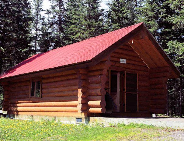 Frnak Kibbee Cabin, Bowron Lake, BC