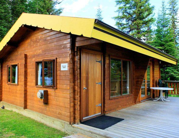 George Isaac Bungalow at Becker's Lodge, Bowron Lake, BC