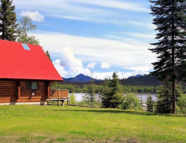 Betty Wendle House, Becker's Lodge, Bowron Lake, BC