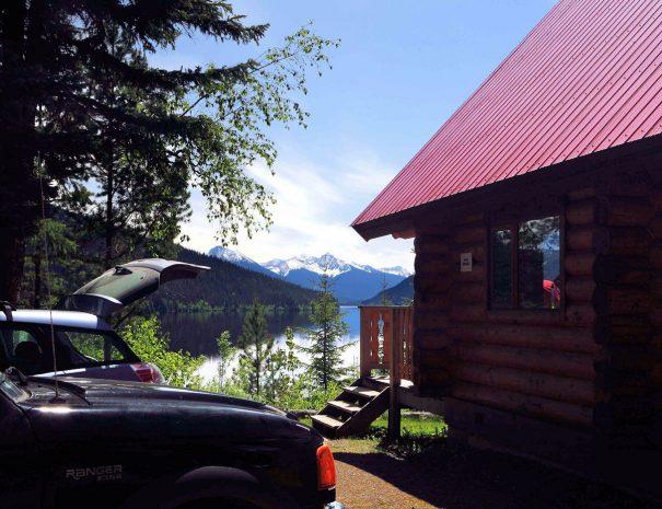 Betty Wendle House at Beckers Lodge Bowron Lake