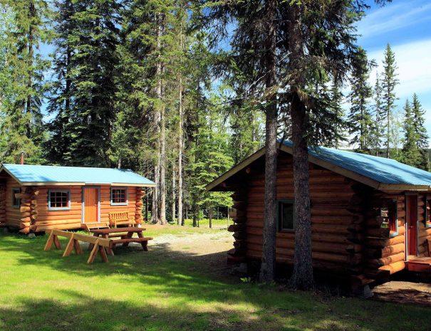 Trapper Cabins, Becker's Lodge, Bowron Lake, BC