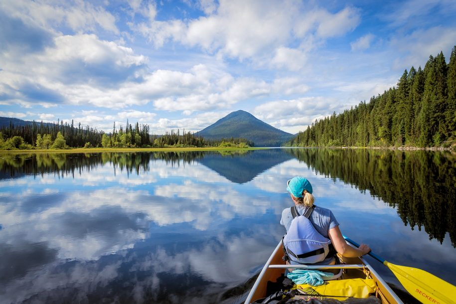 Canoeing Bowron Lakes, BC