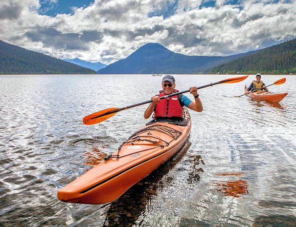 kayak rentals at Bowron Lake