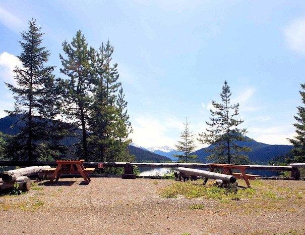 Camping at Bowron Lake