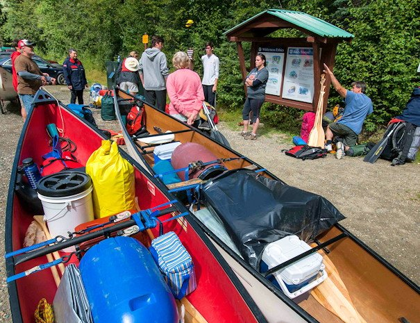 Orientation for the Bowron Lake Canoe Circuit