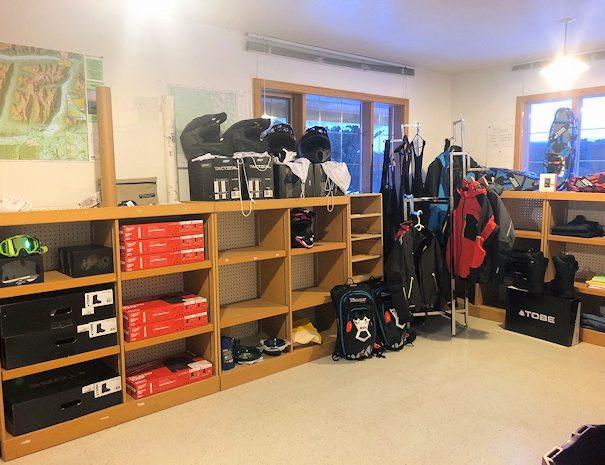snowmobile equipment rentals