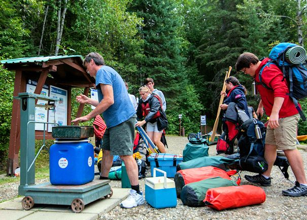 weigh in for Bowron Lake Canoe Circuit