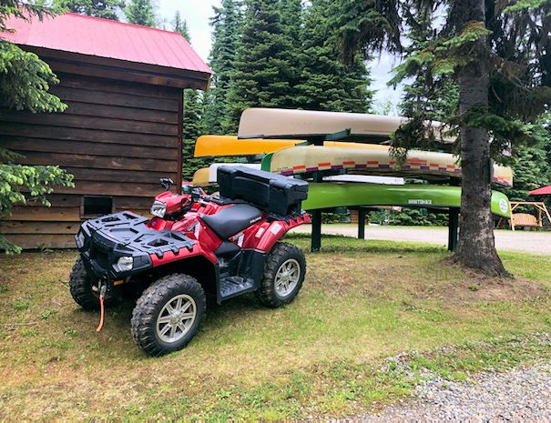 ATV Rentals at Becker's Lodge, Bowron Lake, BC